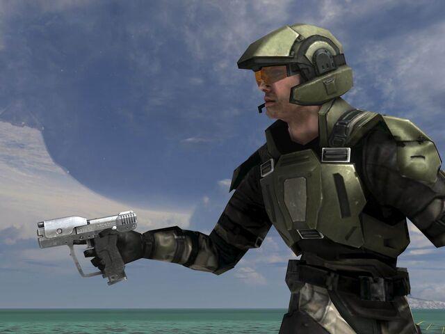 File:M6G Pistol One Handed.jpg