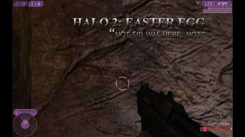 Halo 2 Not Sid Here Not - Easter Egg - WALKTHROUGH