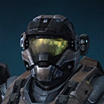 Halo Reach helmet commando 3
