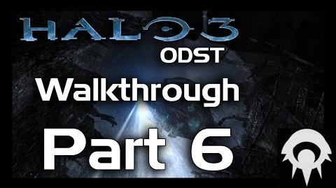 Halo 3 ODST Walkthrough - Part 6 - Kikowani Station - No Commentary