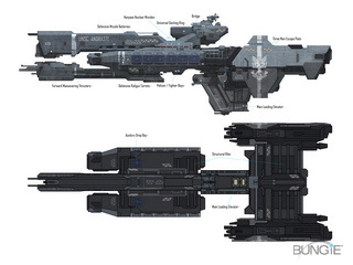 H3 Frigate Concept art