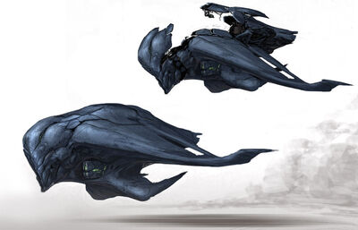 Alien Fighter Design