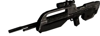 BR55HB-AR Battle Rifle