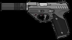 FN CISP Mk.I Suppressed