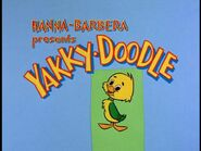 Yakky-Doodle Title Card