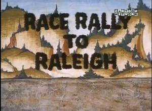 Race rally to raleigh