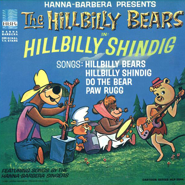 Hanna barbera cartoon hillbilly bears