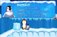 Baby Mumble in Happy Feet GBA game