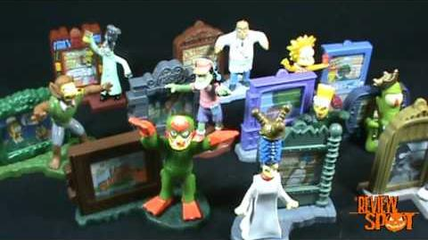 The Simpsons Creepy Classics (Burger King, 2002)