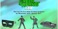 Green Hornet in 3D (Hardee's, 2011)