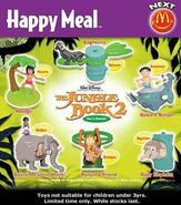 Jungle Book Windup McD NZ Set 6