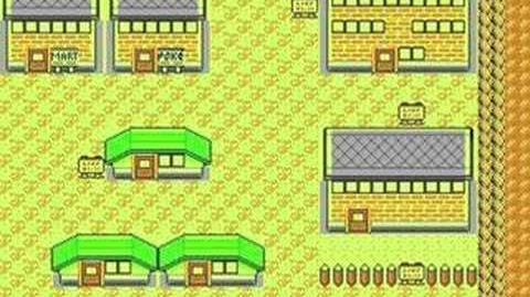 Pokemon Silver Gold Crystal - Lavender Town