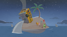 S1E27 Crashed bus on the island