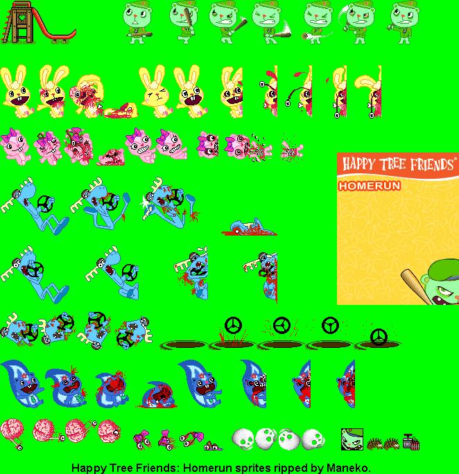 Happy Tree Friends Valentine Game Screenmediazone5n