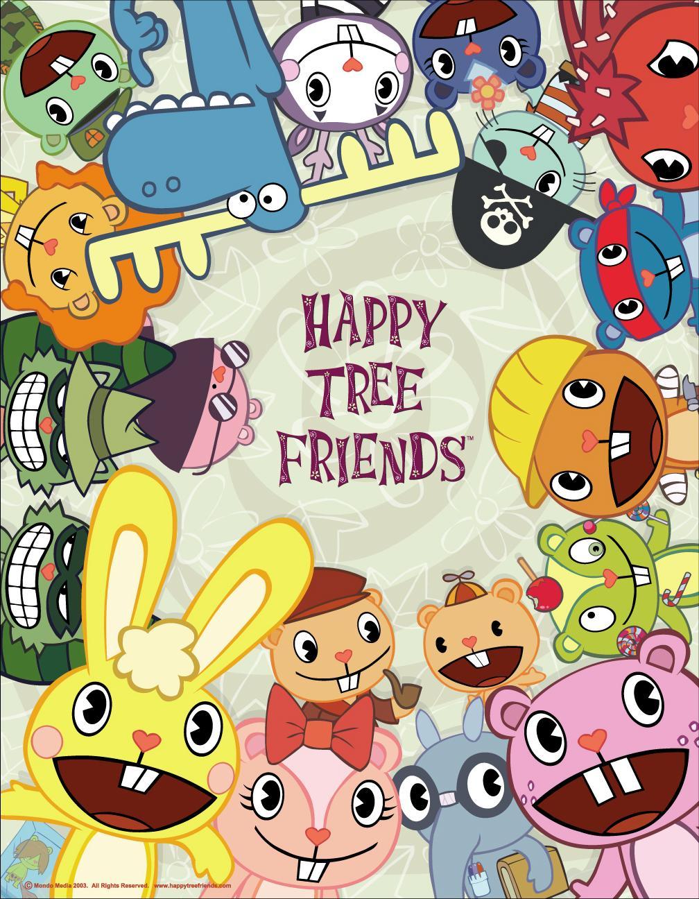 List of Main Characters | Happy Tree Friends Wiki | FANDOM ...