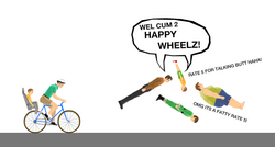 Wel cum 2 happy wheelz