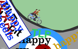 Classic Happy Wheels scene
