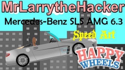 video happy wheels speed drawings  mercedes benz sls amg