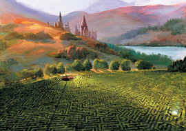 The Maze (Triwizard Tournament 3rd Task Concept Artwork)