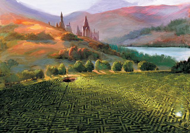 File:The Maze (Triwizard Tournament 3rd Task Concept Artwork).png