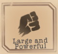 Beast identifier - Large and Powerful