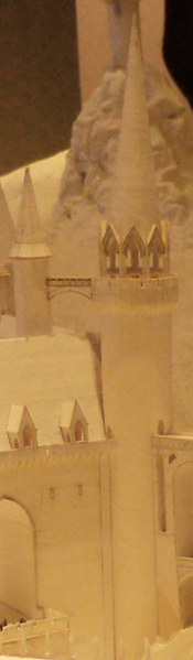 Stone Bridge tower model