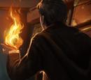 Hand-held flames