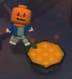 Pumpkin-head potion