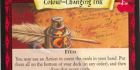 Colour-Changing Ink (Trading Card)