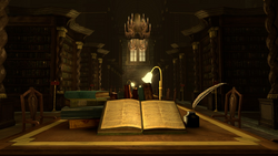 Hogwarts Library