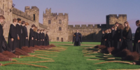 Hogwarts School brooms