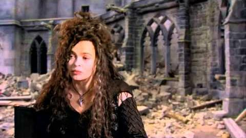 Harry Potter and the Deathly Hallows Part 2 Official Helena Carter - Bellatrix Lestrange Interview