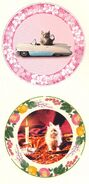 Two of Umbridge's Kitten Plates