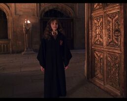 Hermione is back