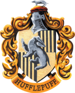 Hufflepuff™ Crest (Painting)