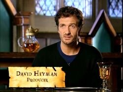 David Heyman (Producer - discussing The Lake) HP4 screenshot