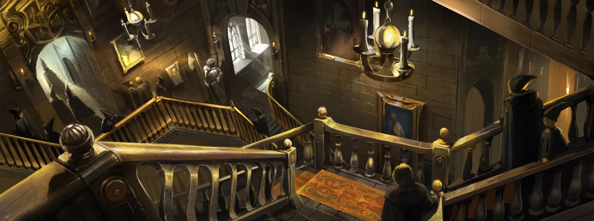 Les grands escaliers