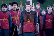 Ron in Quidditch