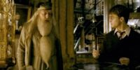 Harry Potter and Albus Dumbledore's private lessons