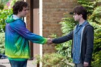 DH1 Dudley Dursley shakehand with Harry Potter