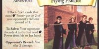 Flying Practice (Trading Card)