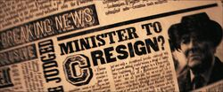 Minister to Resign