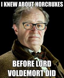 Hipster Slughorn