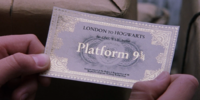 Hogwarts Express ticket