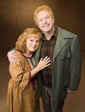 Molly and Arthur Weasley (Promo stills from Order of the Phoenix movie)