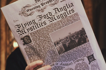 Flying Ford Anglia Mystifies Muggles