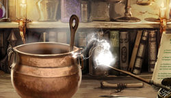 Potion-making spell