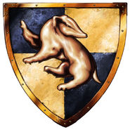 Hufflepuff Logo from Harry Potter Lego