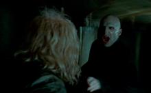 Voldemort confronting Ollivander