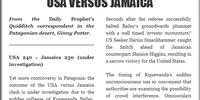 USA VERSUS JAMAICA (I)